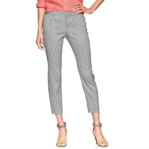 GAP Slim Cropped Linen Pants